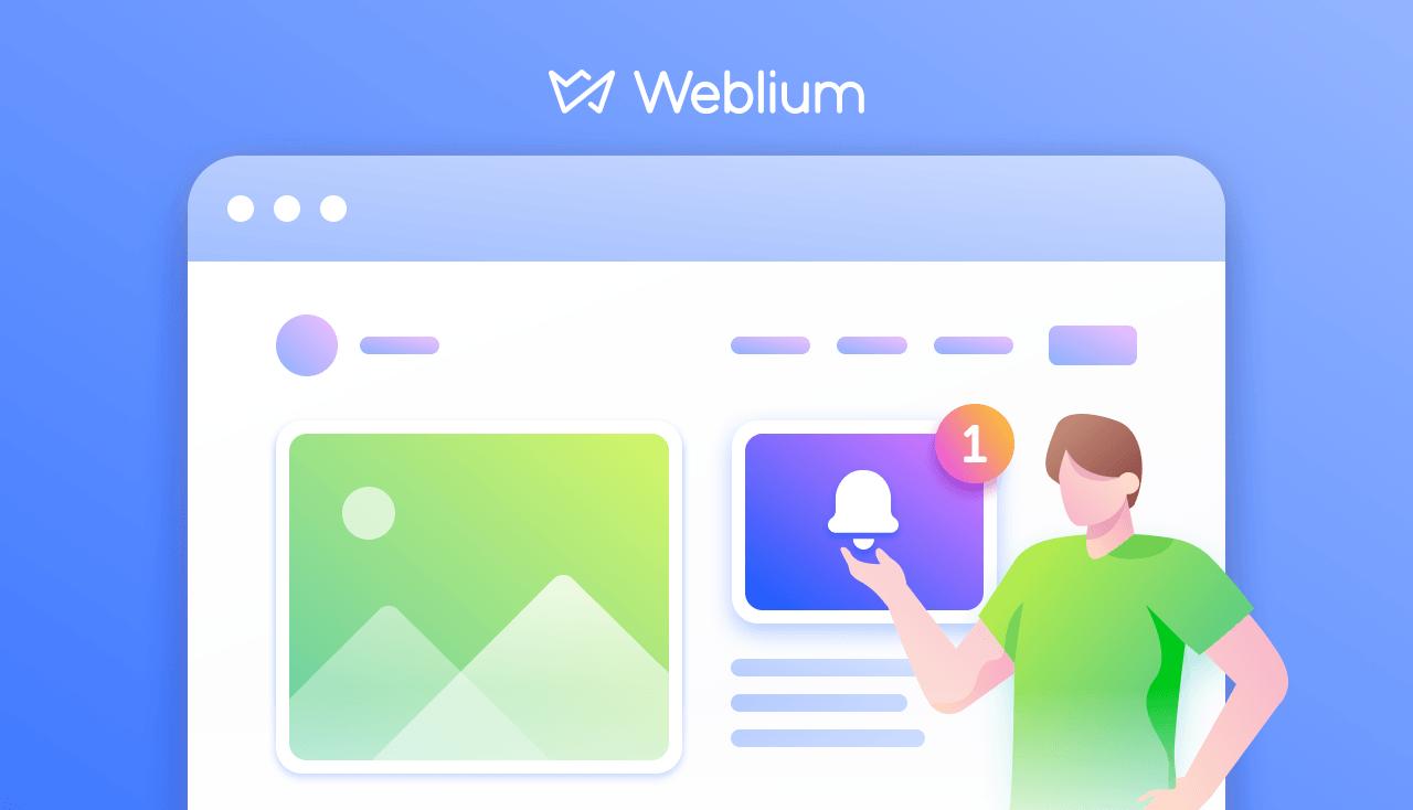Weblium Product Updates #December 2019
