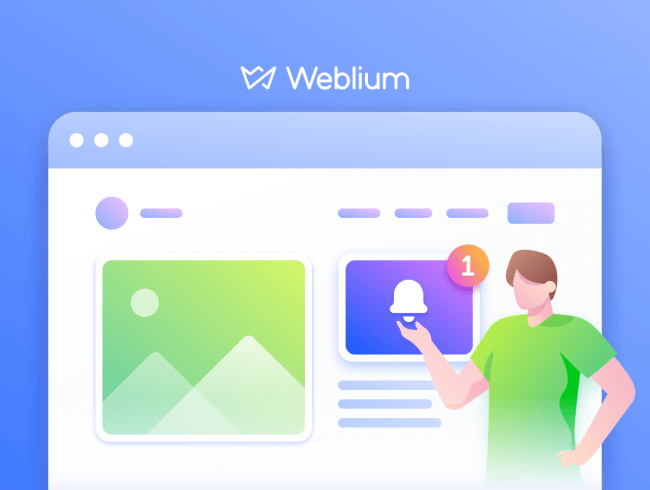 Weblium Product Updates #December 2019