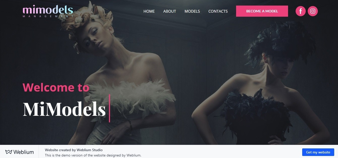 beautiful website background example