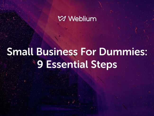 Small Business for Dummies: 9 Essential Steps