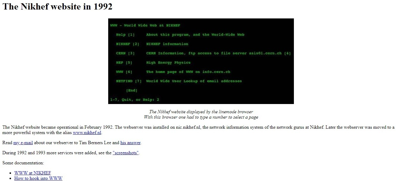 In 1993, the developers created a free access to the source code of a hypertext project, which has already become famous