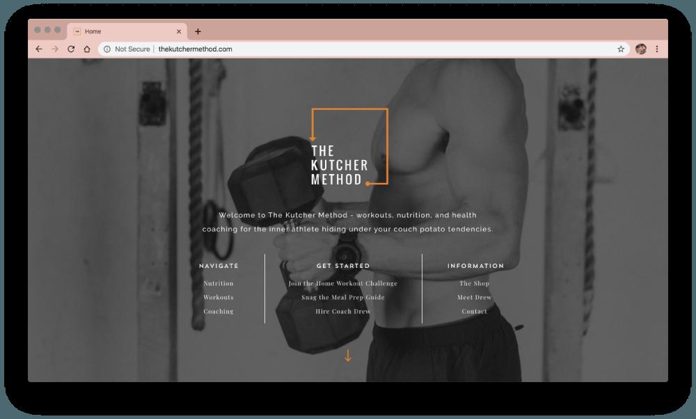 Drew Kutcher website