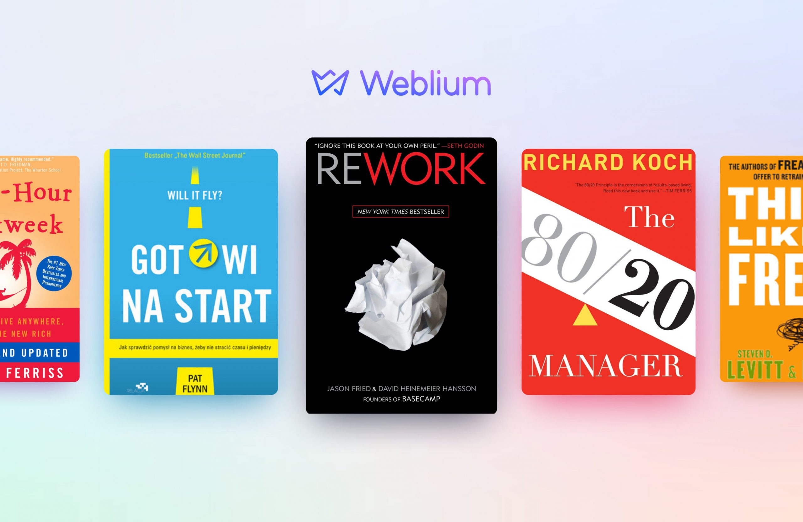books for small businesses - weblium