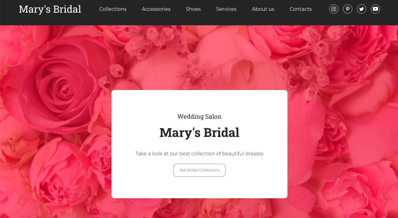 Wedding templates
