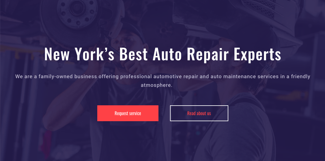 mechanic template