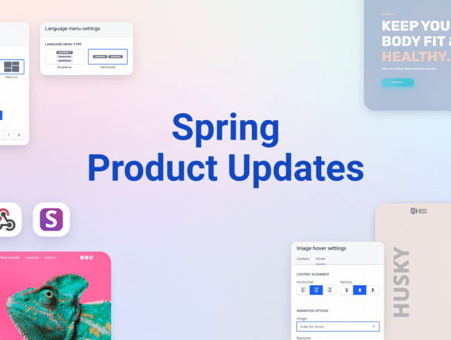 Weblium Spring Product Updates #March–May 2020