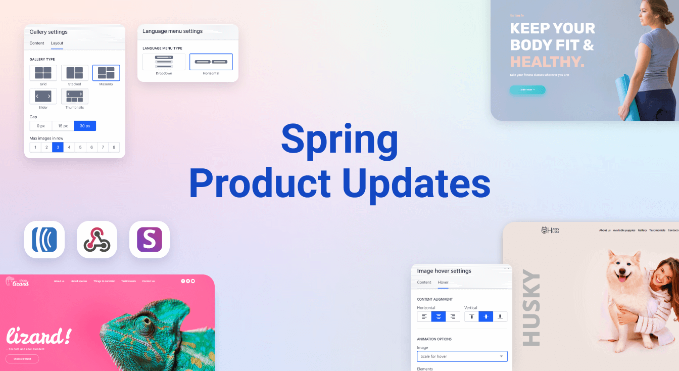 spring product updates 2020