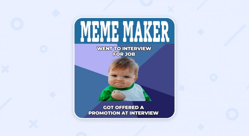 Simple Meme Generator