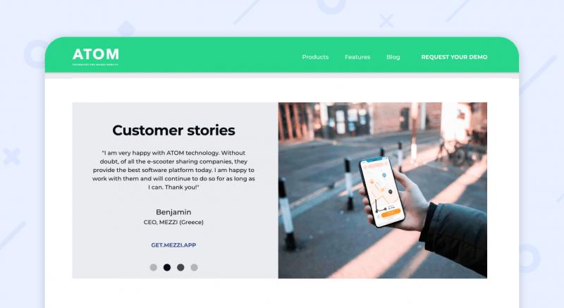 ATOM mobility success stories