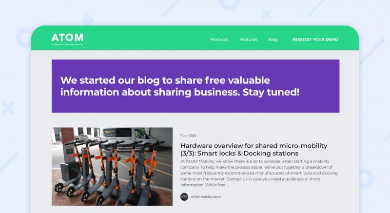 ATOM mobility blog