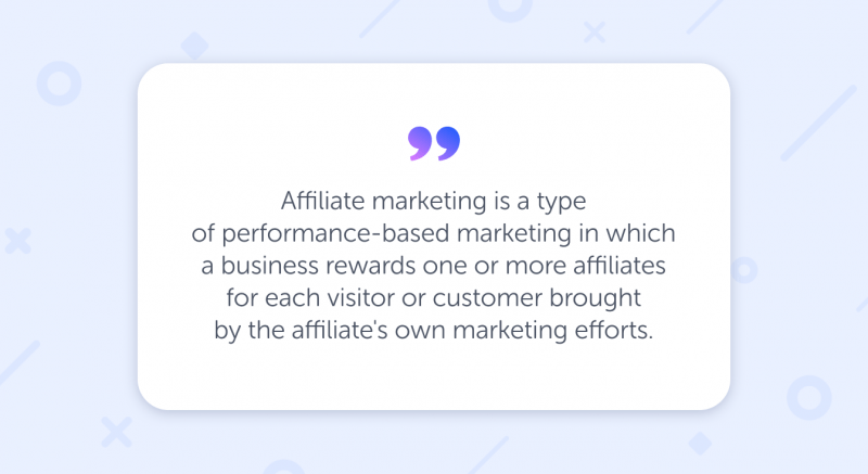 what's affiliate marketing