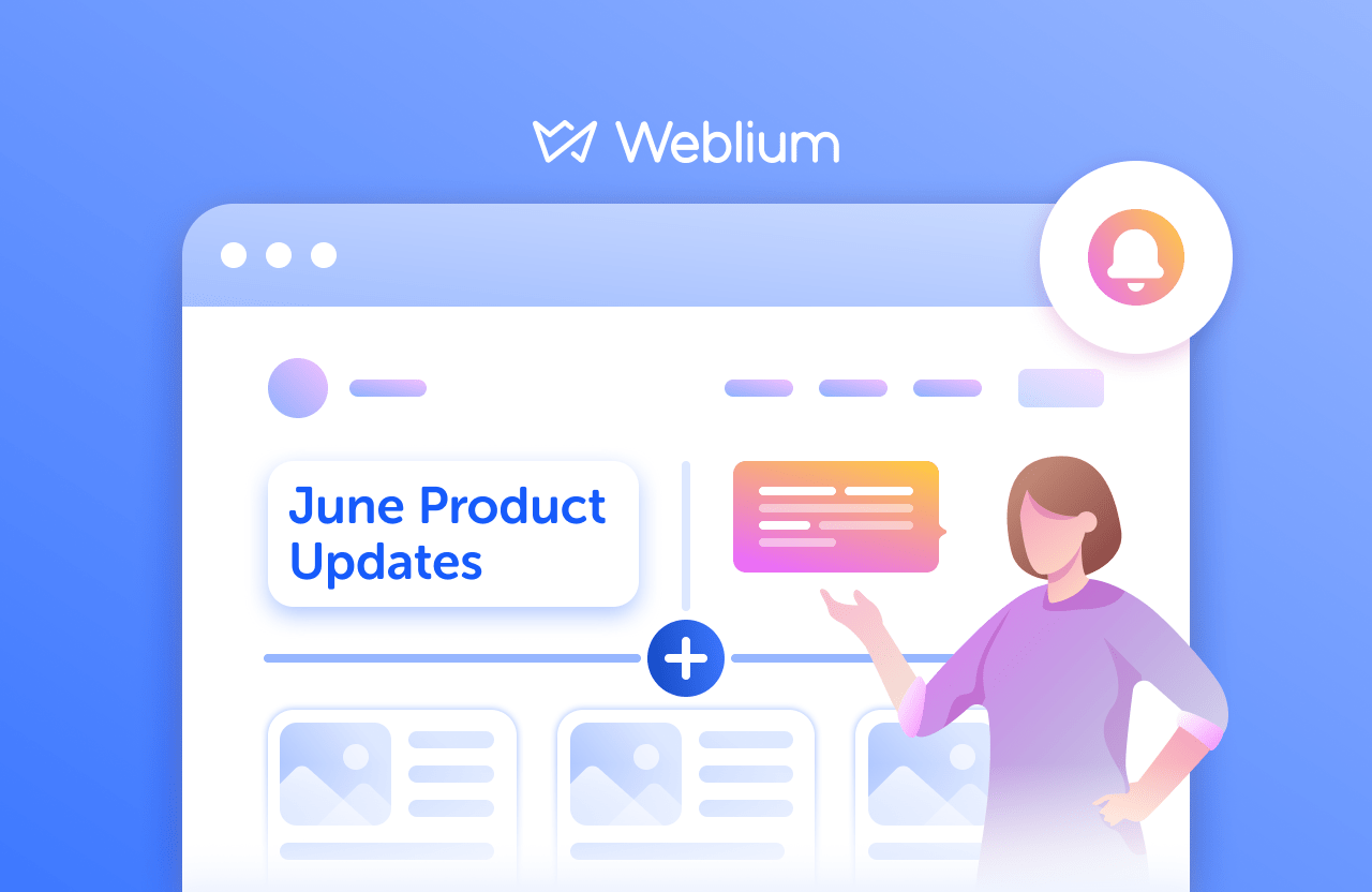 Weblium June product updates