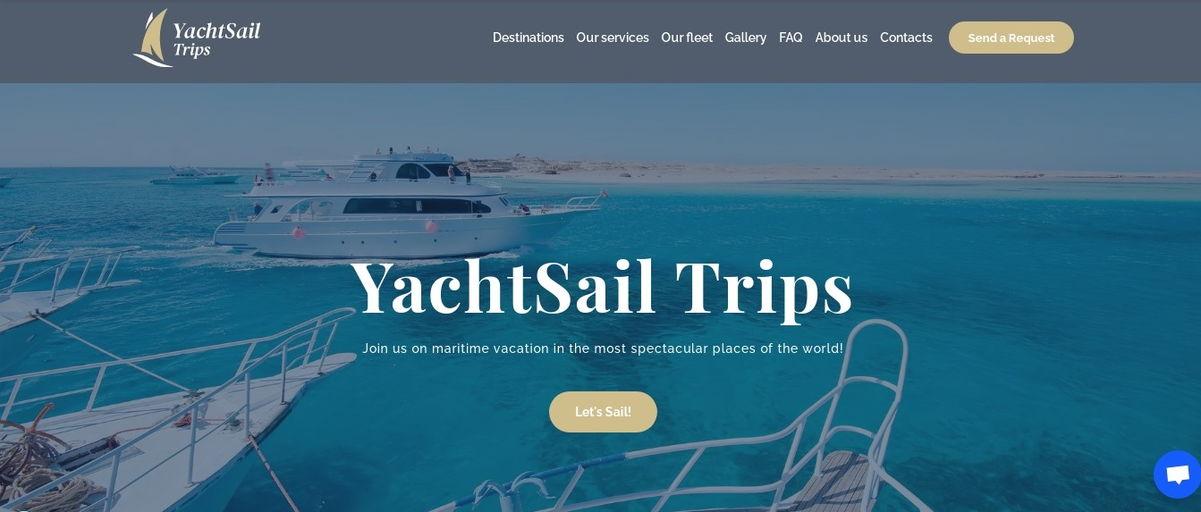 """Yacht Sail"" trips"