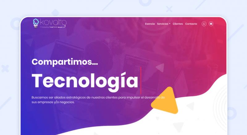 Kovalto Consulting website