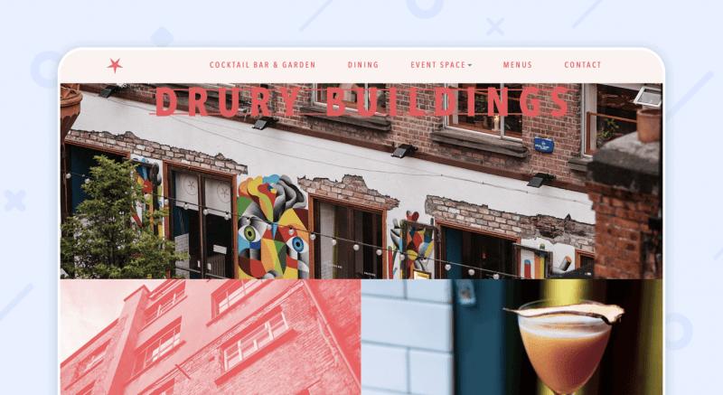 Drury Buildings Web Restaurant
