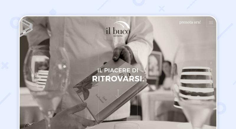 Il Buco website restaurant