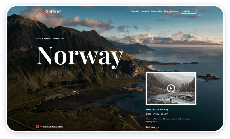 Travel Template Norway