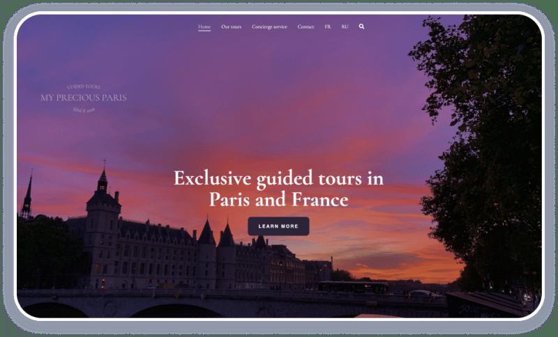 Tourism Websites My Precious Paris