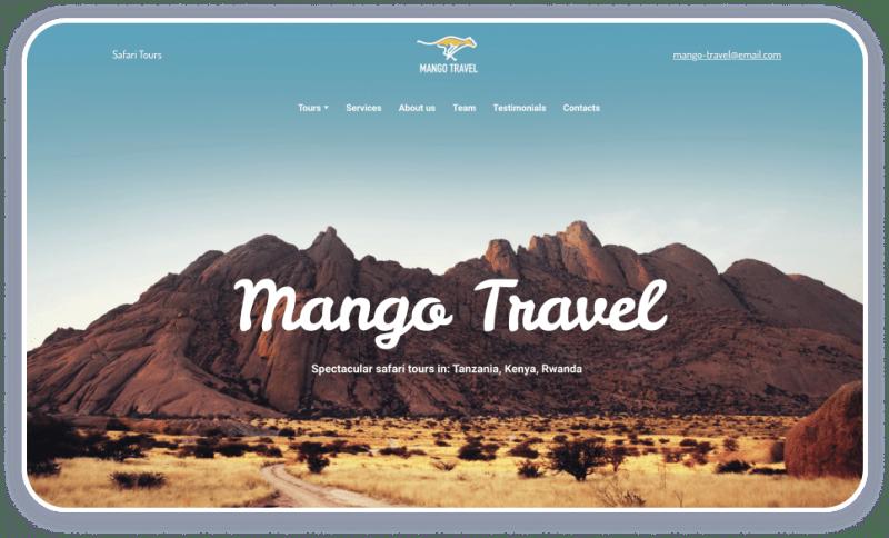 Safari Tours Template