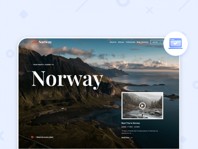 Travel Site Template Reviewed & Best Tourist Website Examples (Upd: 2021)