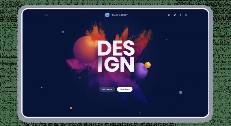 Design Agency Website Template