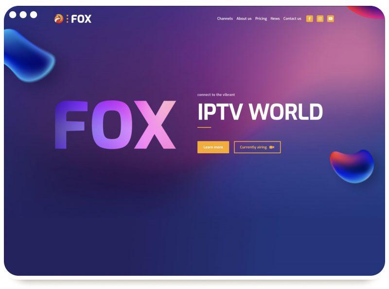 IPTV-Provider Template