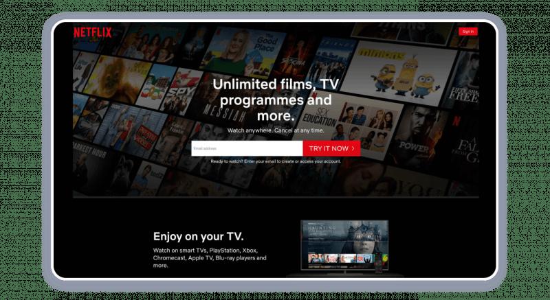 Netflix — YouTube Competitor #6