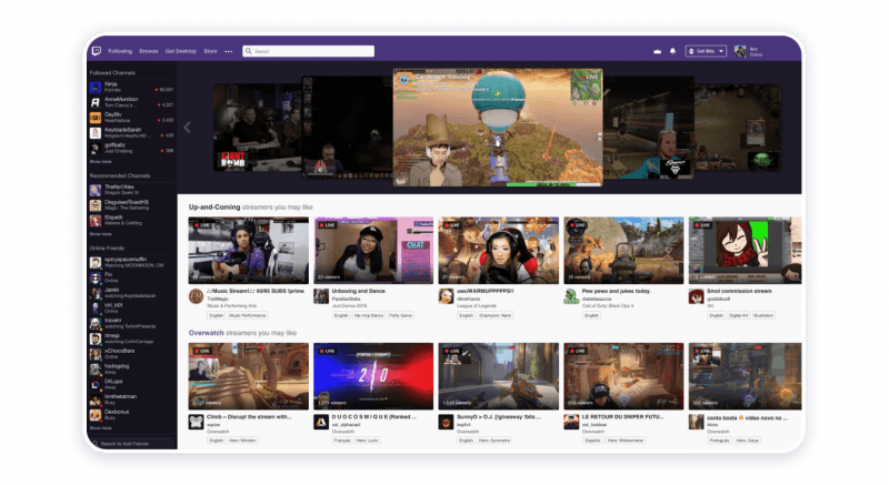 Twitch — YouTube Competitor #3