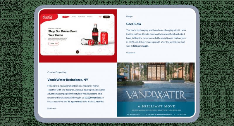 Marketing Portfolio best Cases