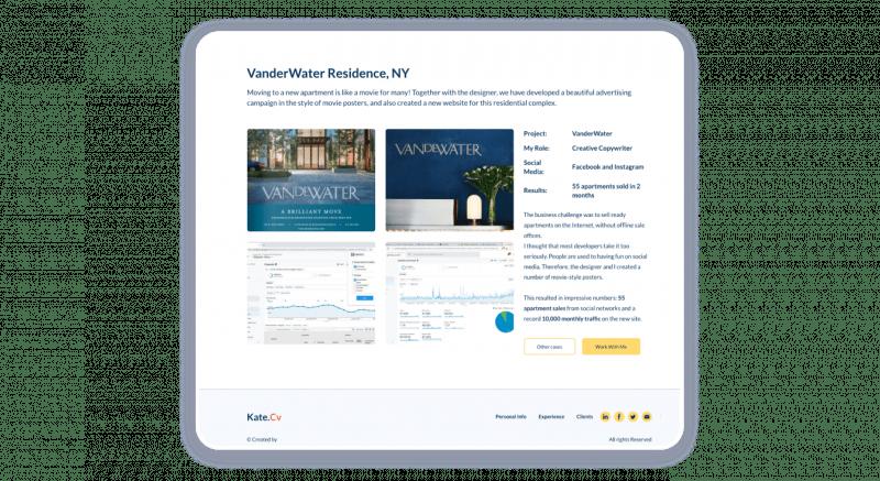 Effective Marketing Portfolio Marketing Samples