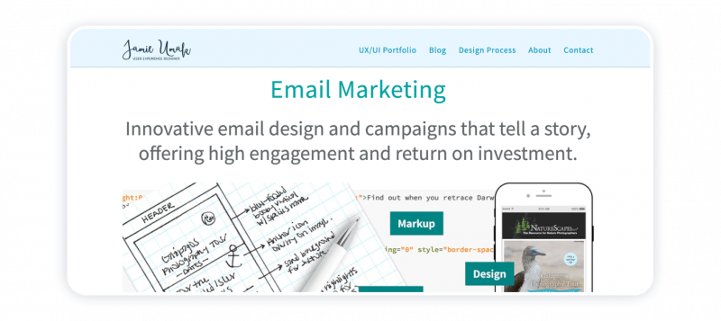 Effective Marketing Portfolio email-marketer