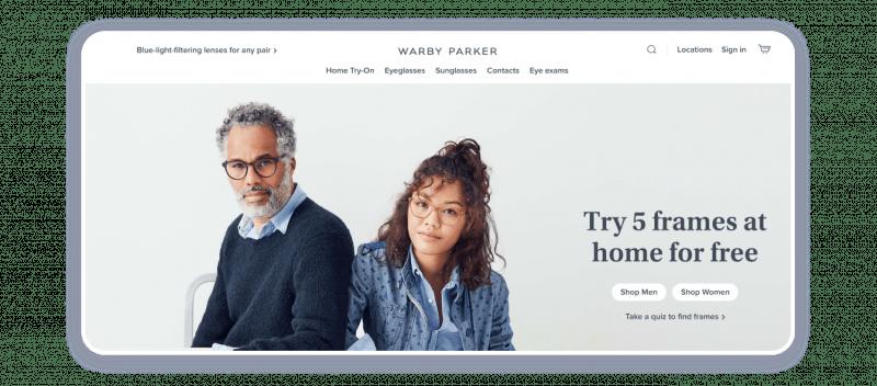 D2C Warby Parker