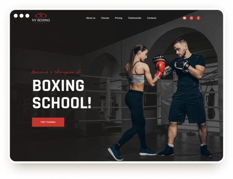 Template Boxing Club