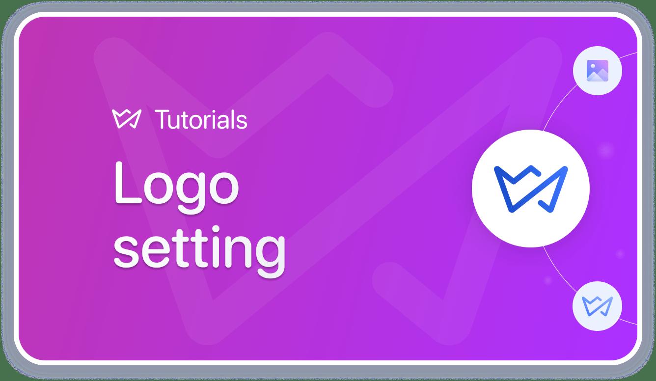 logo settings weblium