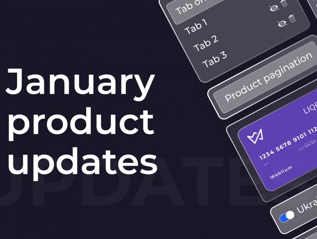 January product updates