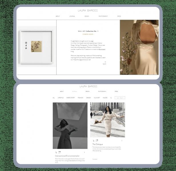 Laura Baross personal website