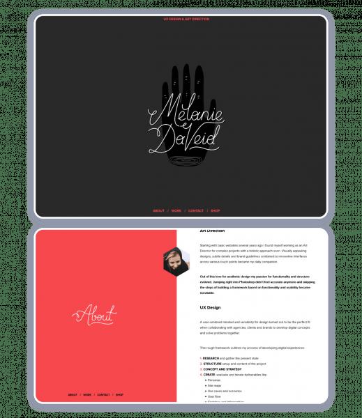 Melanie DaVeid personal website
