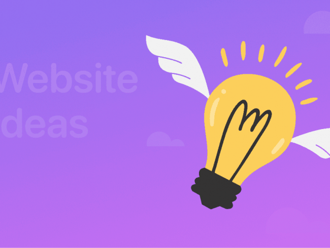 75 Extraordinary Website Ideas for Launching a Site (Upd: 2021)