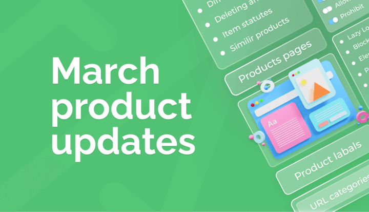March Product Updates