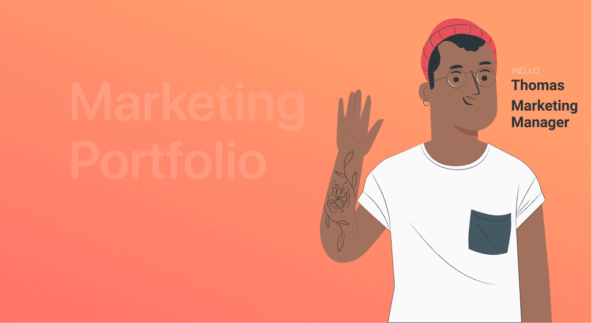 How to Create an Effective Marketing Portfolio in 2021 with Examples