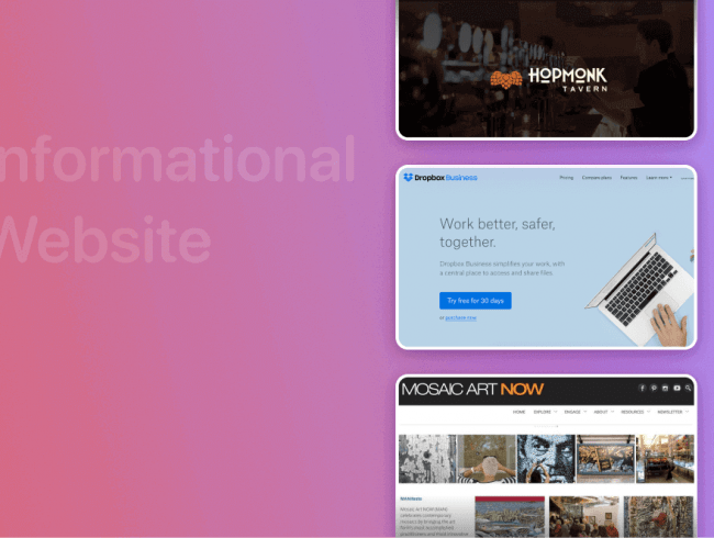 Top 12 Informational Website Examples For You To Follow in 2021