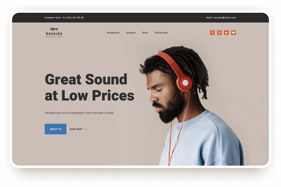 Music device store