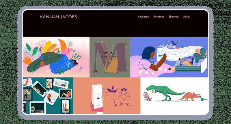 animating website