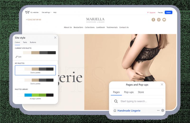Weblium as a platform to Choosing a platform to start an electronic store
