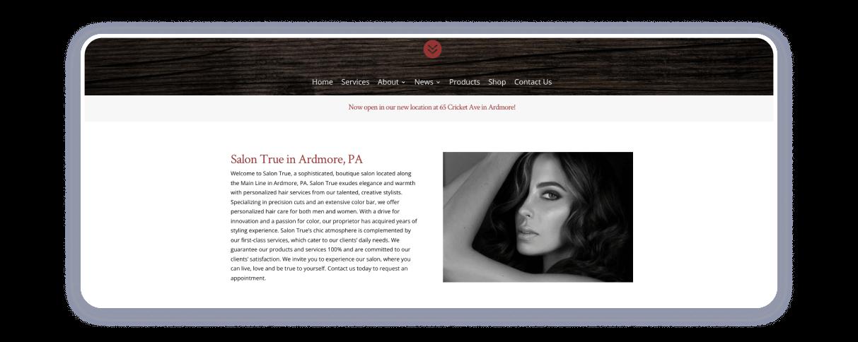 top salon websites