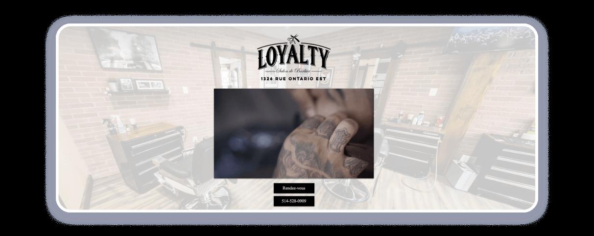 barbershop website examples