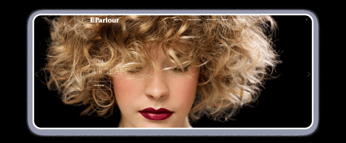 hairstylist websites